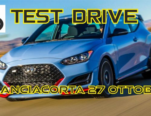 TEST DRIVE A FRANCIACORTA – 27 Ottobre 2019